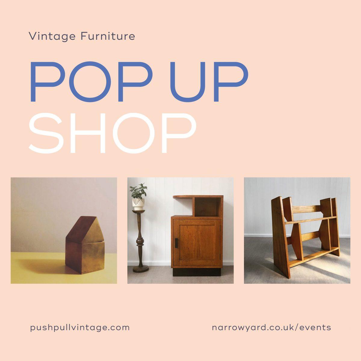 Push Pull Vintage Pop Up Shop